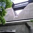 ウイスキー博物館の屋根